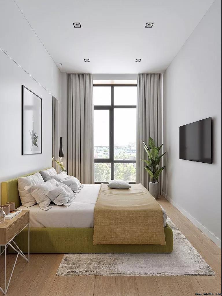 单身公寓装修,面积虽小,五脏俱全