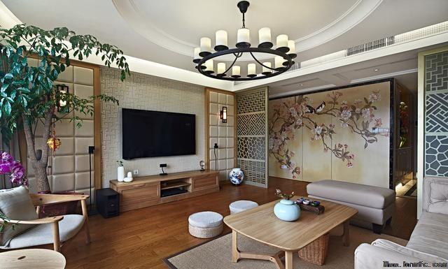 温江鹭湖宫,中式装修效果图,温江装修公司推荐