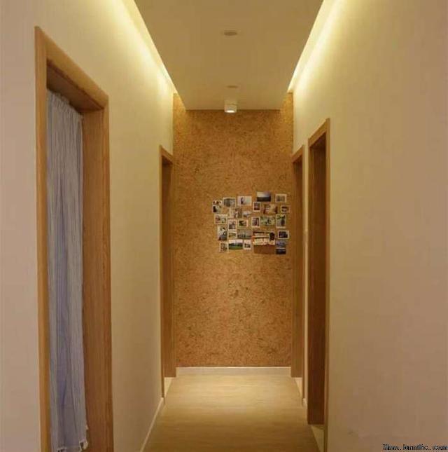 走廊装修效果图,几个平方出大效果