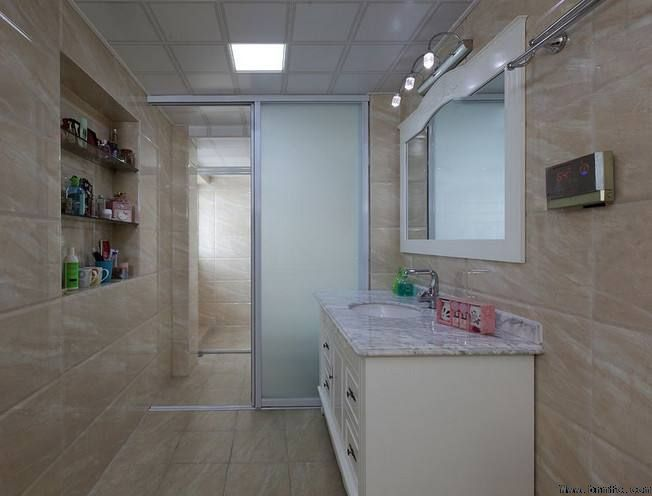 浴室装修干湿分隔,卫生间装修干湿分区【温江装修公司】