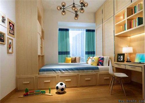卧室榻榻米效果图 小卧室榻榻米不浪费每一寸空间【梵纯高端设计】