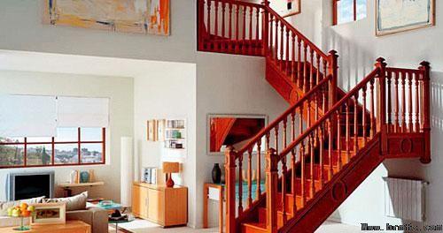统一风格,装修楼梯的选择风格
