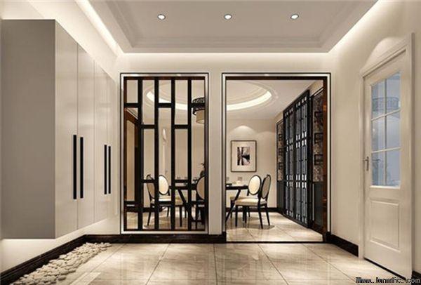 玄关如何设计?入口大厅怎么设计得好看?【温江装修公司】
