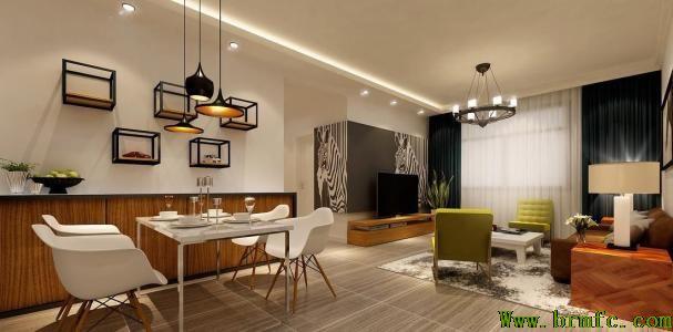 手绘家居引领最IN时尚 打造出你心中的完美家园【温江家装公司梵纯设计】